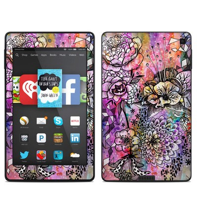 Amazon Kindle Fire HD 6in Skin - Hot House Flowers