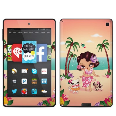 Amazon Kindle Fire HD 6in Skin - Hula Lulu