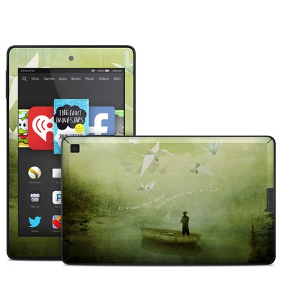 Amazon Kindle Fire HD 6in Skin - If Wishes