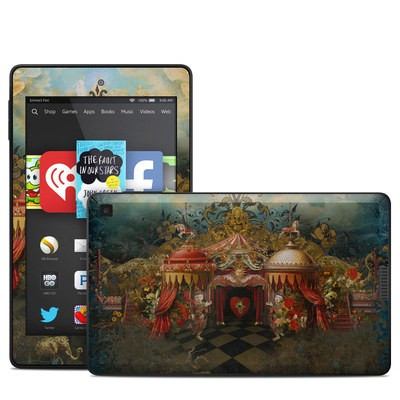 Amazon Kindle Fire HD 6in Skin - Imaginarium