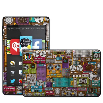 Amazon Kindle Fire HD 6in Skin - In My Pocket