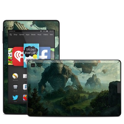 Amazon Kindle Fire HD 6in Skin - Invasion