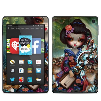 Amazon Kindle Fire HD 6in Skin - Kirin and Bakeneko