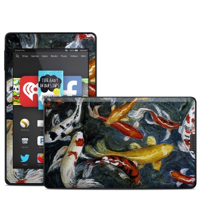 Amazon Kindle Fire HD 6in Skin - Koi's Happiness