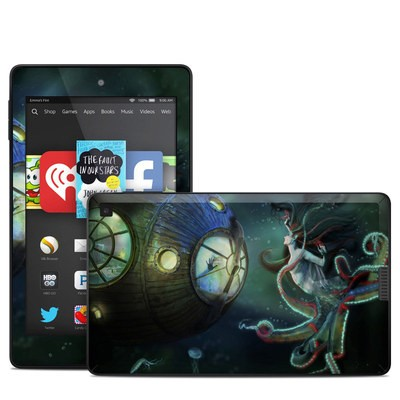 Amazon Kindle Fire HD 6in Skin - 20000 Leagues