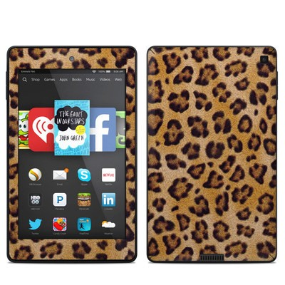 Amazon Kindle Fire HD 6in Skin - Leopard Spots