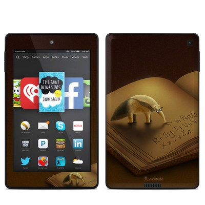 Amazon Kindle Fire HD 6in Skin - Lettereater