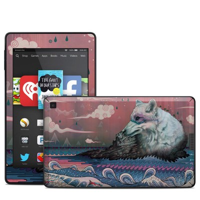 Amazon Kindle Fire HD 6in Skin - Lone Wolf