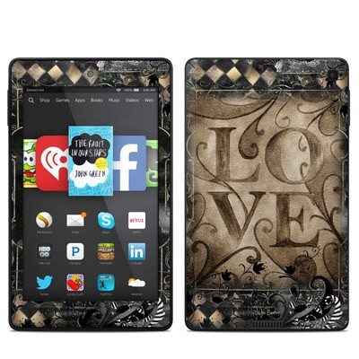 Amazon Kindle Fire HD 6in Skin - Love's Embrace