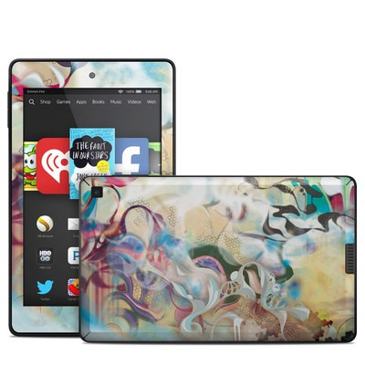Amazon Kindle Fire HD 6in Skin - Lucidigraff