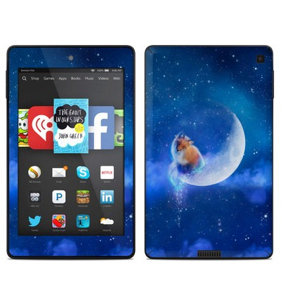 Amazon Kindle Fire HD 6in Skin - Moon Fox