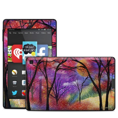 Amazon Kindle Fire HD 6in Skin - Moon Meadow