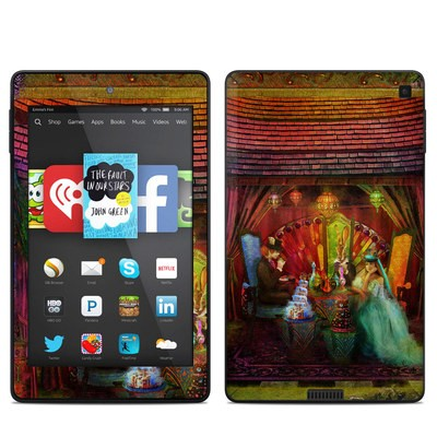 Amazon Kindle Fire HD 6in Skin - A Mad Tea Party