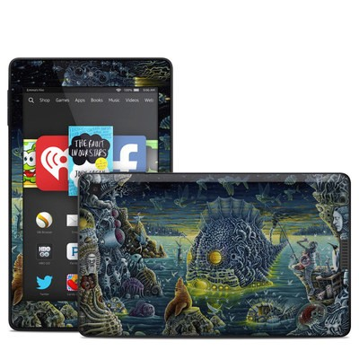 Amazon Kindle Fire HD 6in Skin - Night Trawlers