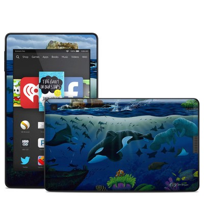 Amazon Kindle Fire HD 6in Skin - Oceans For Youth