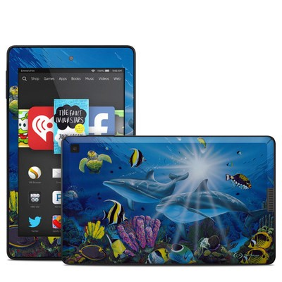 Amazon Kindle Fire HD 6in Skin - Ocean Friends
