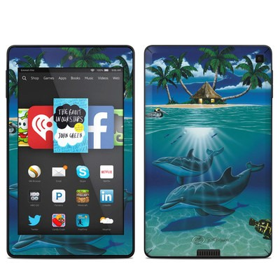 Amazon Kindle Fire HD 6in Skin - Ocean Serenity