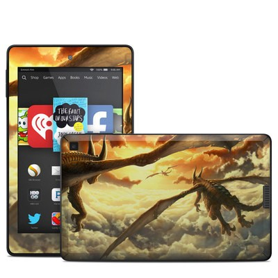 Amazon Kindle Fire HD 6in Skin - Over the Clouds