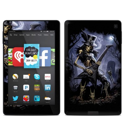 Amazon Kindle Fire HD 6in Skin - Play Dead