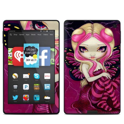 Amazon Kindle Fire HD 6in Skin - Pink Lightning