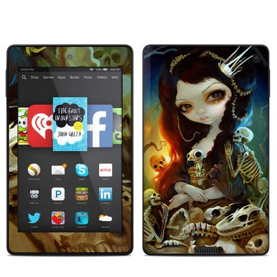 Amazon Kindle Fire HD 6in Skin - Princess of Bones