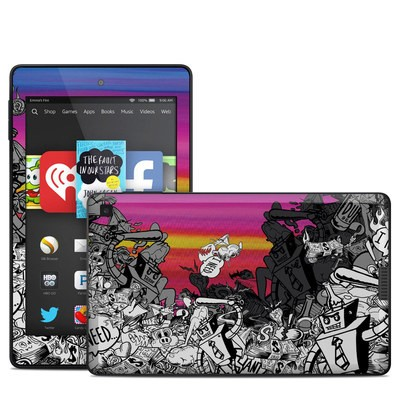 Amazon Kindle Fire HD 6in Skin - Robo Fight