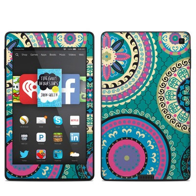 Amazon Kindle Fire HD 6in Skin - Silk Road