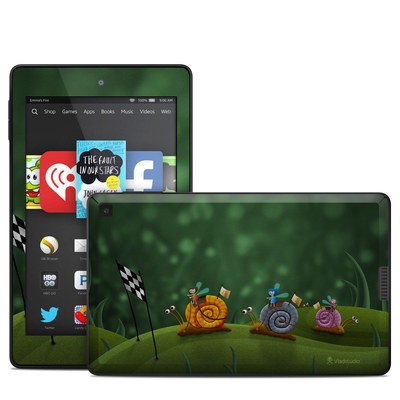 Amazon Kindle Fire HD 6in Skin - Snail Race