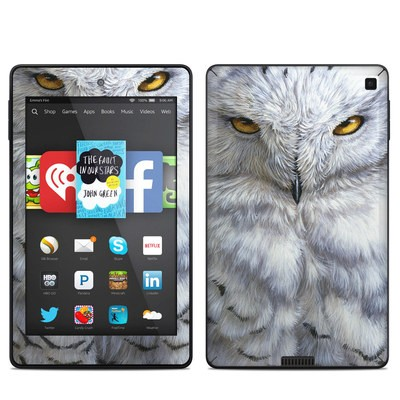 Amazon Kindle Fire HD 6in Skin - Snowy Owl