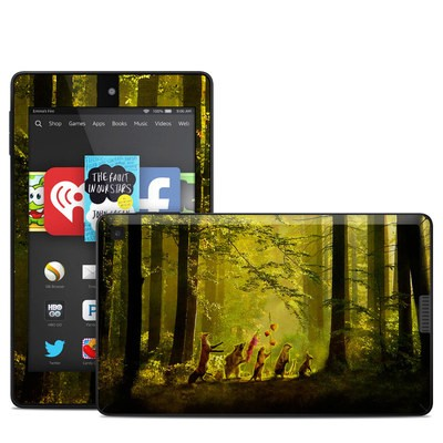 Amazon Kindle Fire HD 6in Skin - Secret Parade