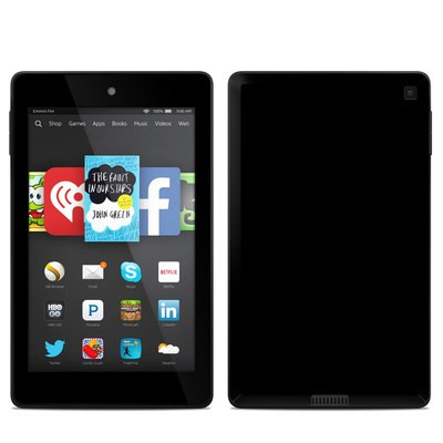 Amazon Kindle Fire HD 6in Skin - Solid State Black