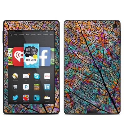Amazon Kindle Fire HD 6in Skin - Stained Aspen