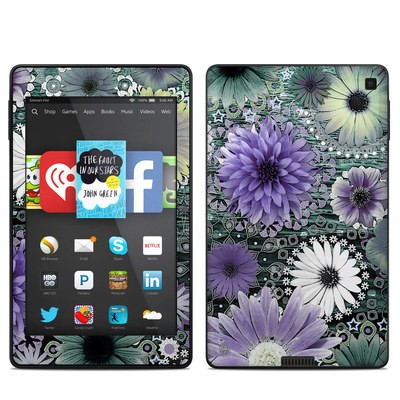 Amazon Kindle Fire HD 6in Skin - Tidal Bloom