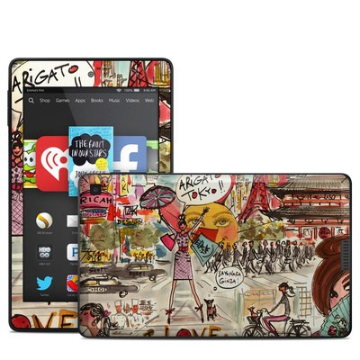 Amazon Kindle Fire HD 6in Skin - Tokyo