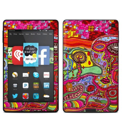Amazon Kindle Fire HD 6in Skin - The Wall