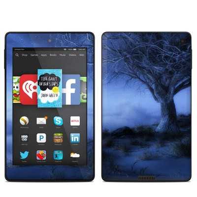 Amazon Kindle Fire HD 6in Skin - World's Edge Winter
