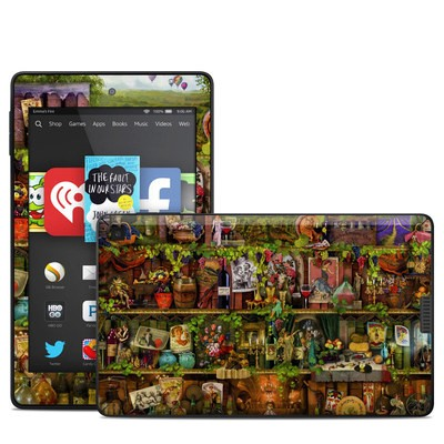 Amazon Kindle Fire HD 6in Skin - Wine Shelf