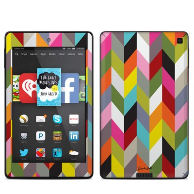 Amazon Kindle Fire HD 6in Skin - Ziggy Condensed