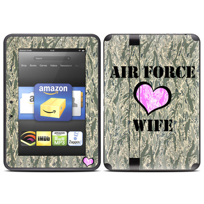 Amazon Kindle Fire HD (2012) Skin - Air Force Wife