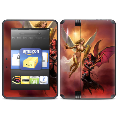 Amazon Kindle Fire HD (2012) Skin - Angel vs Demon