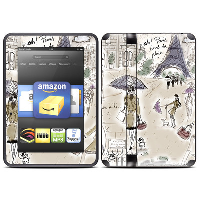 Amazon Kindle Fire HD (2012) Skin - Ah Paris