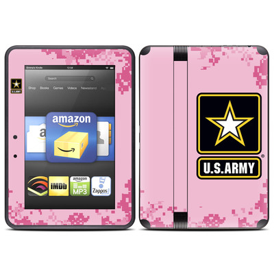 Amazon Kindle Fire HD (2012) Skin - Army Pink