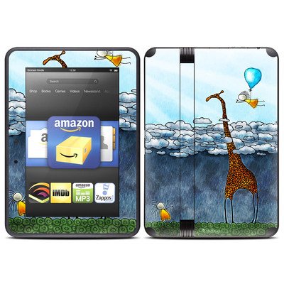 Amazon Kindle Fire HD (2012) Skin - Above The Clouds