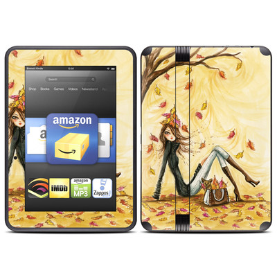 Amazon Kindle Fire HD (2012) Skin - Autumn Leaves
