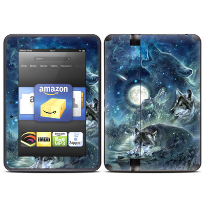 Amazon Kindle Fire HD (2012) Skin - Bark At The Moon