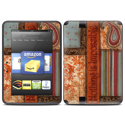 Amazon Kindle Fire HD (2012) Skin - Be Inspired