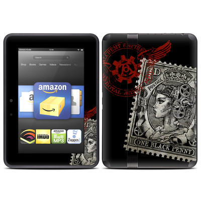 Amazon Kindle Fire HD (2012) Skin - Black Penny
