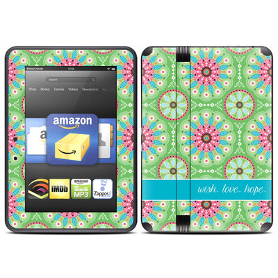 Amazon Kindle Fire HD (2012) Skin - Boho