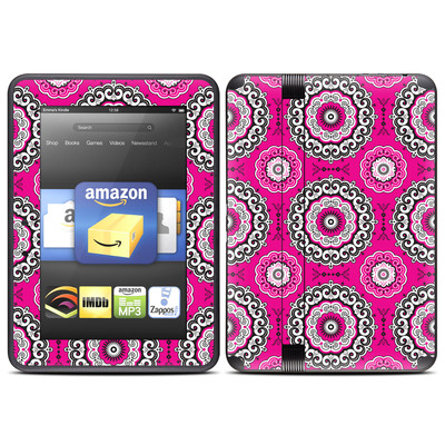 Amazon Kindle Fire HD (2012) Skin - Boho Girl Medallions