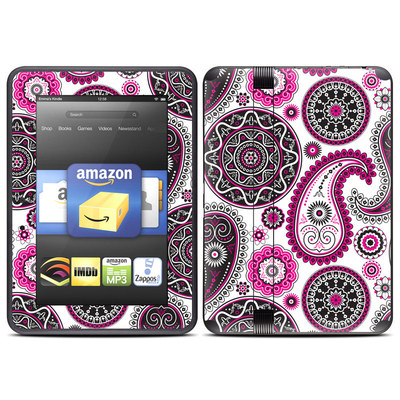 Amazon Kindle Fire HD (2012) Skin - Boho Girl Paisley